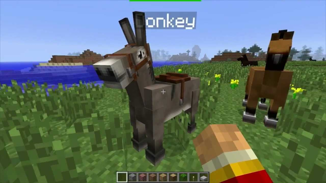minecraft how to make a mule