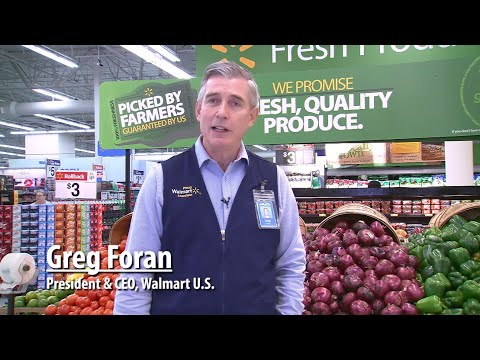 Greg Foran Discusses Store Experience and Operations