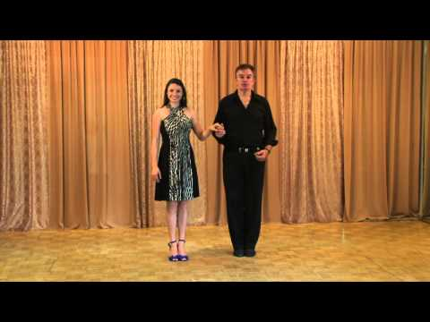 Salsa Lesson: Beginner Intermediate Level 1 Posture, Center,