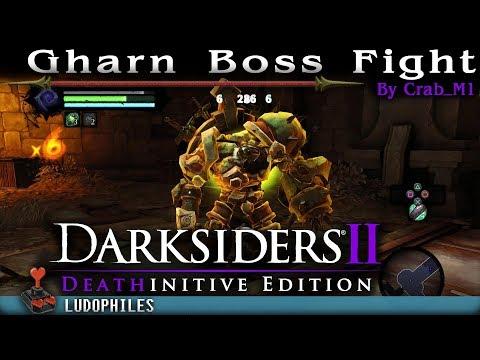 Darksiders II - Gharn Boss Fight (PS4)