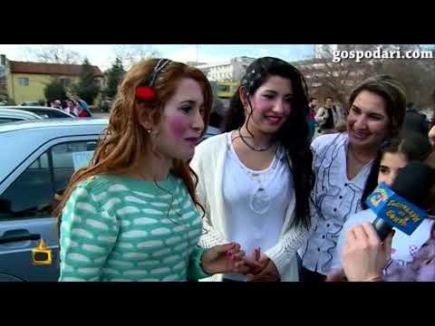 Пополина Вокс на ромски пазар за булки