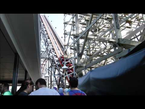 Great America: Around the Park VLOG / May 28, 2015 / Part 1 of 3