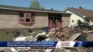 Mills County holds meeting to help answer homeowner questions about rebuilding
