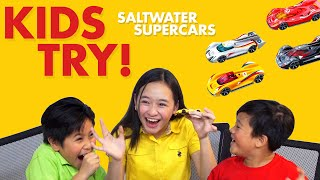 Bulilits React to the Shell Saltwater Supercars