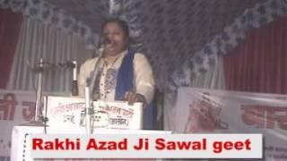 bhakti sagar jawabi kirtan Rakhi Azad sawal geet best singing bhakti song 2016
