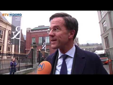 Rutte reageert op Jinek-commotie: Groningers kunnen echt op mij rekenen - RTV Noord