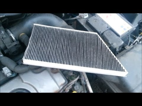 changing the pollen filter on a peugeot 206 youtube. Black Bedroom Furniture Sets. Home Design Ideas
