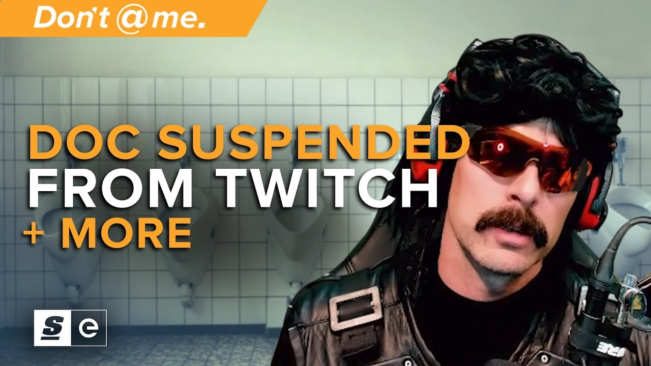 Dr DisRespect Suspended After IRL Bathroom Stream and Other Controversial  Twitch Bans