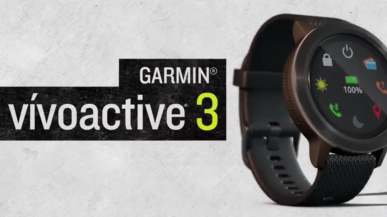 garmin vivoactive 3 gps uhr white kaufen bergzeit. Black Bedroom Furniture Sets. Home Design Ideas