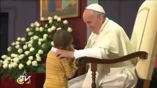 Papa Francisco e o menino insistente
