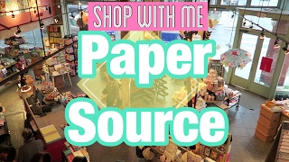 SHOP WITH ME | PAPER SOURCE | I'm A Cool Mom