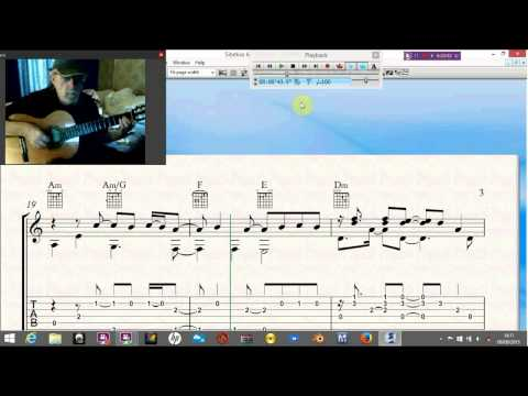 The Ancient from Topigraphical Oceans. With tab, notation and midi.