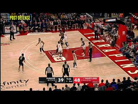 Scouting Jalen Smith - Post Defense (Maryland 2019-2020)