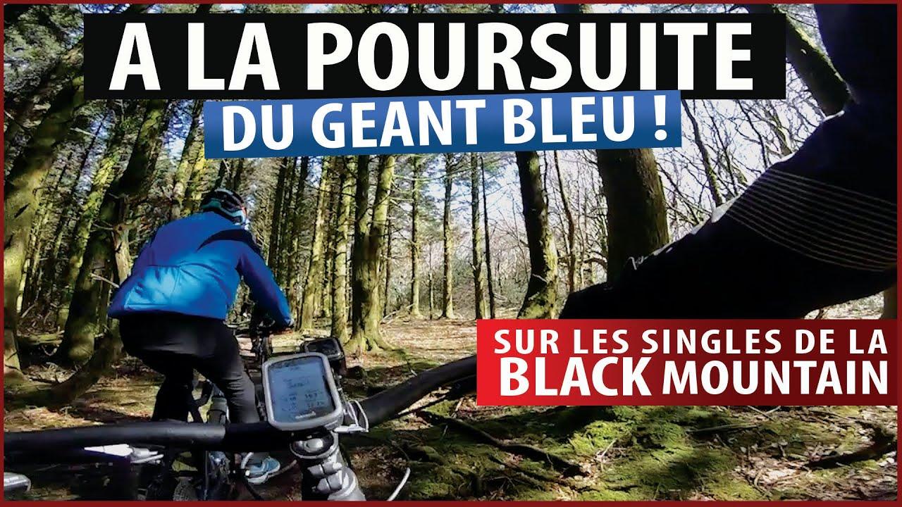 Sur les singles de la Black mountain, petit paradis du VTT !
