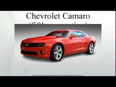 Chevrolet Camaro Fifth Generation Youtube