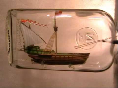 Кораблик своими руками в бутылке