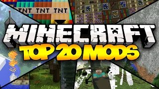 Minecraft: Top 20 Minecraft Mods w/ UnspeakableGaming. Today we tak...
