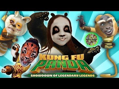 KUNG FU PANDA 3 FAMILY BATTLE! Showdown of Legenendary Legends (FGTEEV Fighting Gameplay)