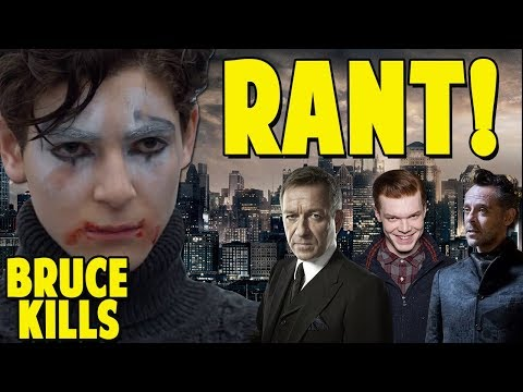 Lets Talk About Bruce Wayne Killing and Crazy Fandoms! GOTHAM RANT