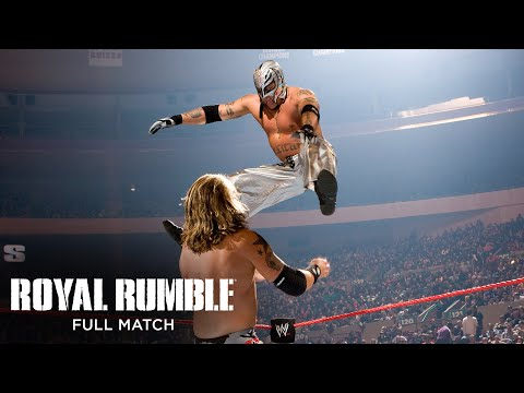 FULL MATCH - Edge vs. Rey Mysterio: World Heavyweight Championship Match: Royal Rumble 2008