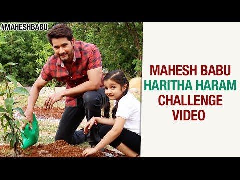 Mahesh Babu Haritha Haram Challenge Video | Sitara Ghattamaneni | #HarithaHaram