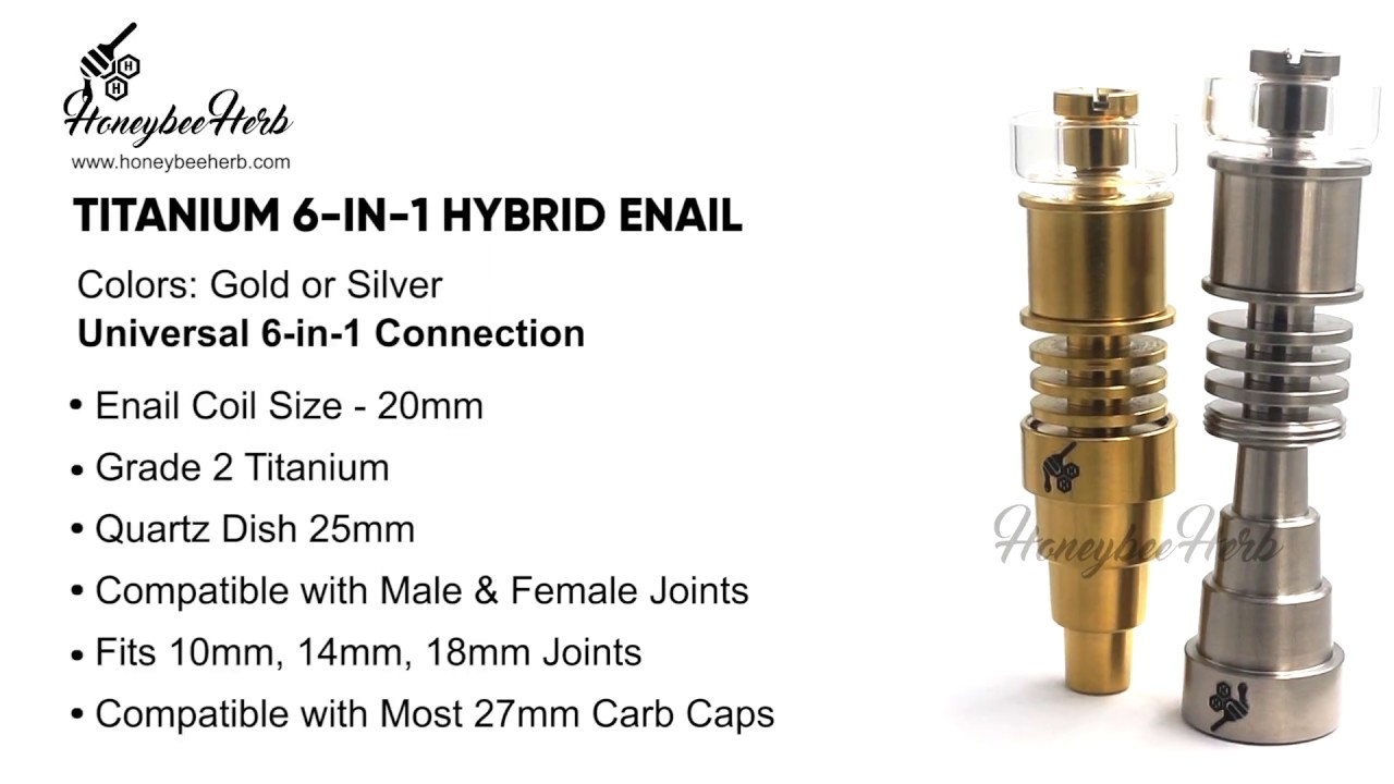 TITANIUM 6-IN-1 HYBRID ENAIL - 20MM