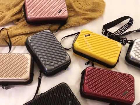 Mini bag Suitcase Shape