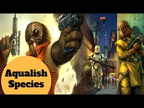Ponda Baba Species - Aqualish History and Biology - Star Wars Species & Creatures Lore Explained