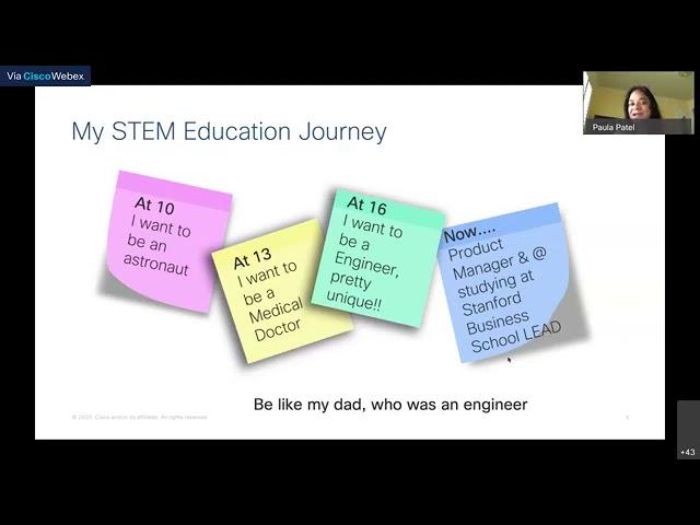 Techie Tuesday: Cool STEM Careers with Paula Patel