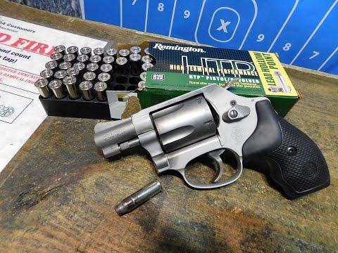 Shooting the S&W Model 637 38 Special