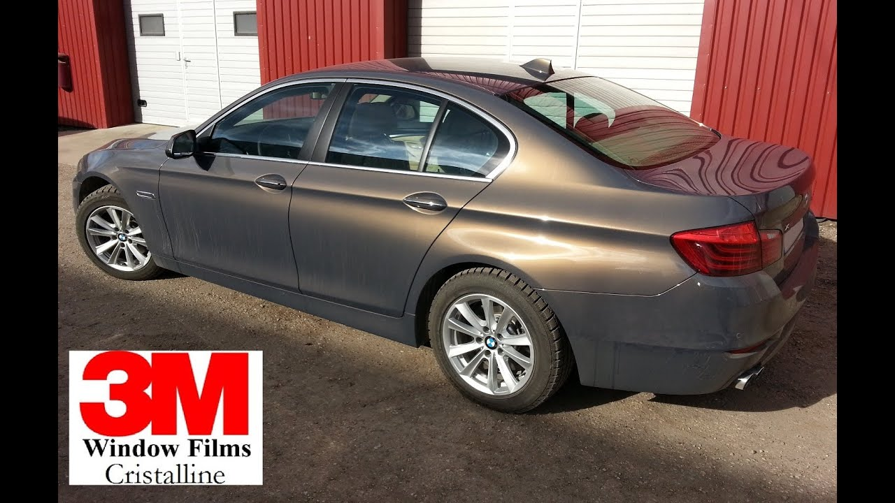 Bmw F10 Tinted With 3m Cristalline Cr70 Cr90 Youtube