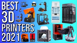 BEST 3D PRINTERS of 2021 | TOP 10 BEST 3D PRINTER 2021