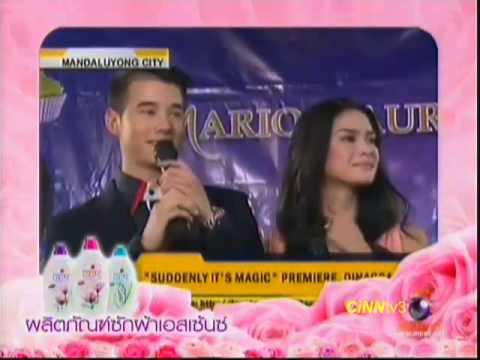 มาริโอ้ ฮอต เหิรฟ้าประกบ ซุปตาร์ Philippine 1 Nov 2012