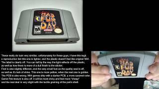 [Nintendo 64] How to Spot A Fake N64 Game Pak (Cartridge)