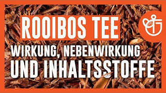 Rooibos Tee Wirkung, Nebenwirkung und Inhaltsstoffe