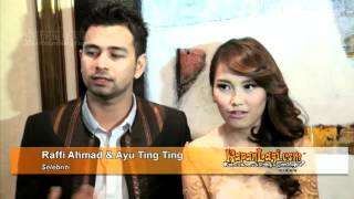 Ayu Dewi Nikah, Raffi Ahmad Dan Ayu Ting Ting Ikut