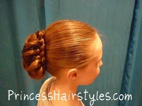 braid-wrapped-bun---updo-chignon-hairstyles