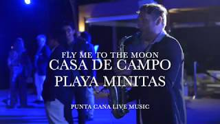 Casa de Campo Beach Club Events, Saxo