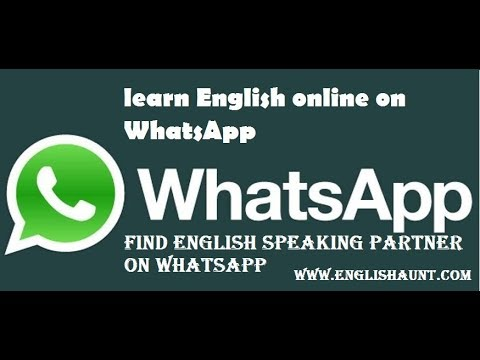 how to find english speaking partner on whatsapp