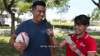 Rugby's Sidney Kumar Welcome Interview: Sport Singapore ambassador