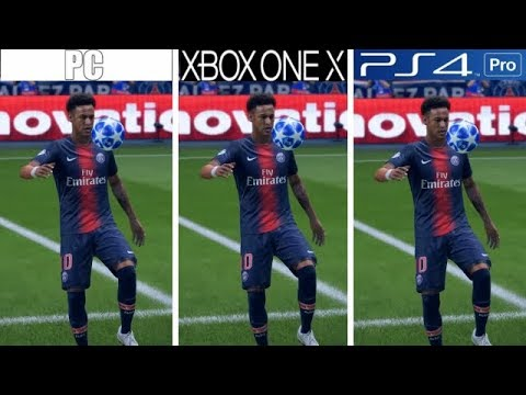 FIFA 19 | PC VS Xbox One X VS PS4 Pro | Graphics Comparison