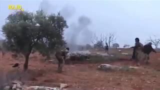 Подорвал себя гранатой: Появилось видео последнего боя пилота Су-25 с террористами