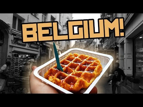 POWDERED MAYONEZ WAFFLES - Belgium country review