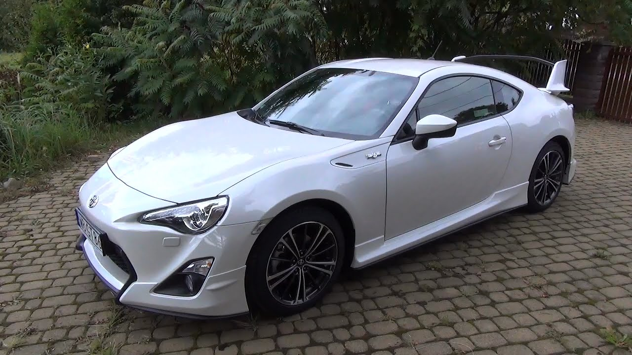 toyota gt86 pakiet aero toyota gt86 with aero kit youtube. Black Bedroom Furniture Sets. Home Design Ideas