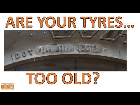 Why old tyres are dangerous, and how to tell the age of your tyre