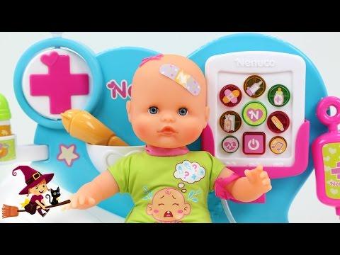 Hospital de Nenuco con Traductor de Lloros de Bebé