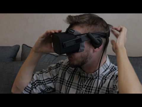 Problems putting the Oculus Rift VR Cover on? This should help