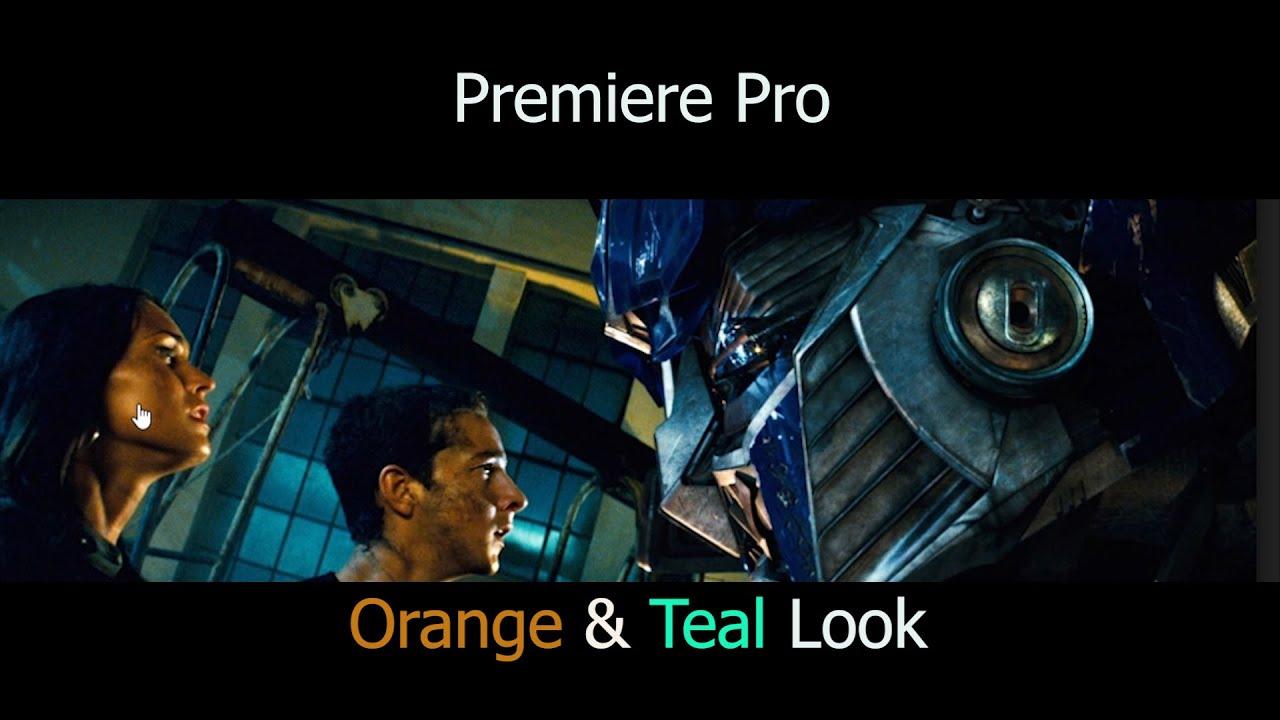 Orange und Teal Look erstellen in premiere Pro