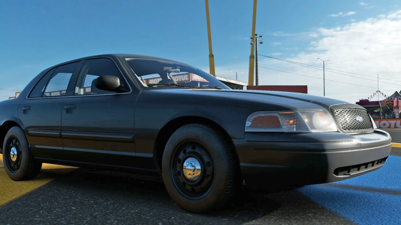 Forza motorsport 7 ford crown victoria police interceptor 2010 test drive gameplay hd