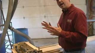 Woodmaster Planer/molder With Gary Striegler (part 9)